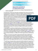 1. Los Mitos de Pérdidas Territoriales de Los Estados Hispanoparlantes