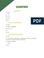 1.5 Resolver Problemas Matematicos Sencillos Utilizando Algoritmos Computacionales