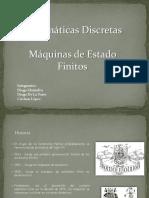 Maquinas Estado Finitos Matematicas Discretas 1