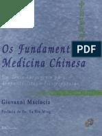 Os Fundamentos Da Medicina Chinesa 2 ED - Maciocia