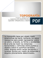 Topografía i