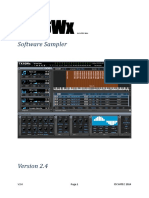 TX16Wx User Manual