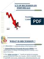 Recession in India Final