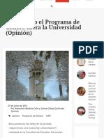 Diálogo UPR   Procurando el Programa de Género fuera la Universidad (Opinión)