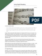 Jazzadvice.com-5 Steps to Mastering Sight-Reading