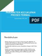 Parameter Kecukupan Proses Termal