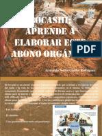 Armando Nerio Guedez Rodríguez - Bocashi, Aprende a Elaborar Este Abono Orgánico
