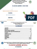 Pancreatitis Aguda y Cronica