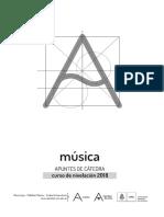 Apuntes de Cátedra - Música 2018