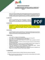 Directiva Chilca Julio 2015