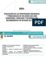 Pesentación Tecnoparque Proyecto Acero 1020