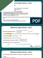 Língua Francesa - Aula 03