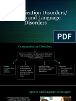 6 communication disorders