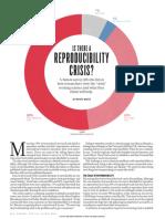 Reproducibility Crisis