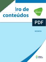 Conteúdos de Matemática EF II