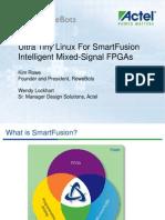 SmartFusion-RoweBots