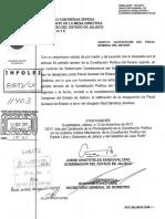 Ratificación de designación