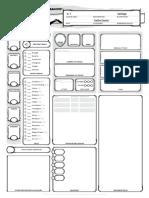 Blank Character Sheet