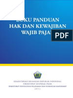 Buku Panduan Hak & Kewajiban Wajib Pajak