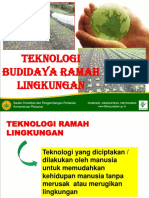 Teknologi Budidaya Ramah Lingkungan