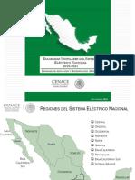 Diagramas unifilares del sistema eléctrico mexicano