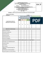 Rubrica Para Los Proyectos Escolares 2017 2018