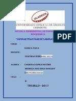 Practicas de Laboratorio de Tercera Unidad Quimica Fisica