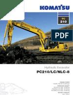 Excavator PC210-8_UESS11008_1209