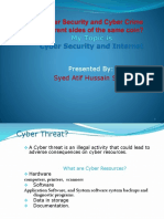 Cyber Security and Internet
