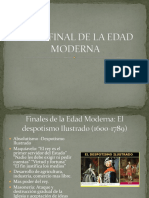 Etapa Final de La Edad Moderna y Ed Contemp