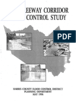 Katy Freeway Corridor Flood Control Study