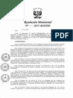 Criterio Gestion de Sitios Cntaminados 212-2017-MINAM