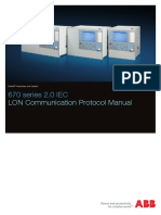 1MRK511305-UEN - En Communication Protocol Manual LON 670 Series 2.0 IEC