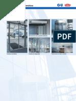 Sistema Puertas Automaticas Para Vidrio Templado