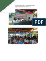 Dokumentasi Musyawarah Masyarakat Desa