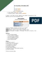Clase de Portugués-Ejercicios