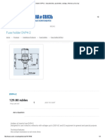 Fuse Holder DVP4-2 - Characteristics, Parameters, Analogs, Reference, Price, Buy