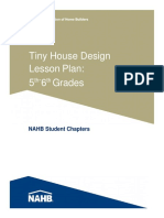 Tiny House Lesson Plan