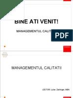 MANAGEMENTUL CALITATII[1]