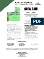 a midsummer nights dream-crew call