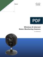 Wireless-G Internet Home Monitoring Camera Modelo WVC54GCA Linksys Cisco.pdf