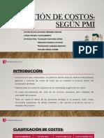 Gestión de Costos-según Pmi