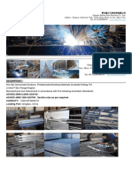 Hot Dip Galvanized Sections