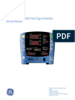 GE Carescape V100 Monitor - Service Manual