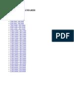 LIST OF STANADRDS.doc