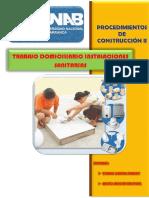 Trabajo Domiciliario Porce II