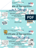 Maciprisa-certificate for Presscon