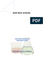 Solid State Analysis