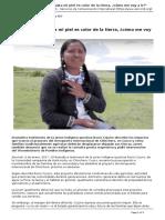 Servindi - Servicios de Comunicacion Intercultural - Chinchero Si Hasta Mi Piel Es Color de La Tierra Como Me Voy a Ir - 2017-01-06