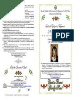 2017 - 25-26 Dec - Vesper Hymns-synaxis Theotokos